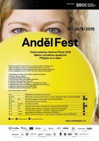 Anděl Fest 2015 - Dobrovolnické aktivity a program