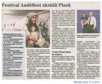 Anděl Fest - Plzeňský deník